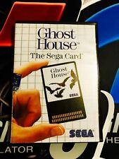 Ghost House Sega Master System The Sega Card complet