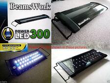 "Beamswork aquarium Power LED 300 light lamp 45-60 cm 17""-21"" tank bright hang on"