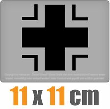 Bundeswehr Kreuz 11 x 11 cm JDM Decal Sticker Aufkleber Racing Die Cut