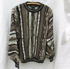 Protege Mens Sweater Cosby Hip Hop Vintage 80s Mens M Ugly Tacky Gaudy Christmas