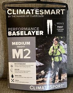 Cuddl Duds ClimateSmart Men's XXL Pants Medium Weight M2 ClimateSport Base Layer