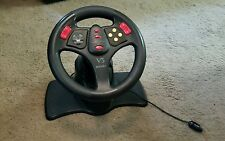 INTERACT V3- SV-380 STEERING WHEEL FOR NINTENDO 64- NO PEDALS- FREE SHIPPING