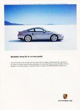 2000 2001 Porsche 911 Turbo Original Advertisement Print Art Car Ad K41