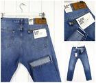 NUOVO Lee 101 Rider 369ml Jeans Vivagno denim stretti slim Luke ___ tutte le