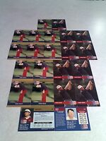 *****Mike Reid*****  Lot of 36 cards.....3 DIFFERENT / Golf