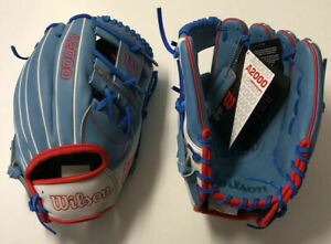 "Wilson A2000 September 2020 Glove Of The Month 11.75"" 1787 Sky Blue LIMITED RARE"