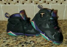 Nike Air Jordan 7 Retro Lola Bunny Black Purple Boys Toddler Size 8C Baby Shoes