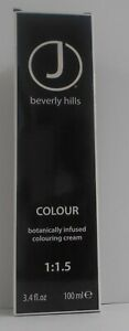 J BEVERLY HILLS Professional Cosmetic Hair Colour Cream (Level 0 - 6)~ 3.4 fl oz