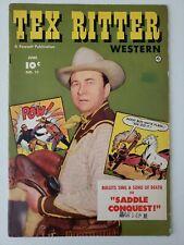 Tex Ritter Western (1952) #11  Comic book