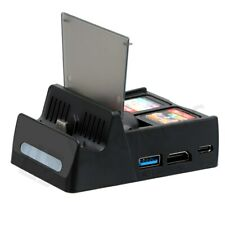 HDMI Charging Dock Station Bracket With HDMI Video Converter for Nintendo Switch