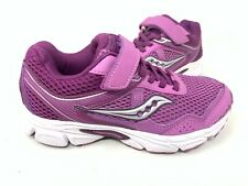 NEW! Saucony Youth Girl's Cohesion 10 AC Running Shoes Purple #57147 177M tz