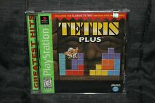 Tetris Plus (PlayStation 1, PS1, PSX) New Sealed Greatest Hits