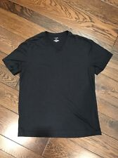 Nordstrom Rack Black V-Neck T Shirt Size Medium