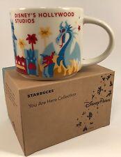 New Starbucks You Are Here Series Hollywood Studios V2 Disney 14oz Mug with Sku