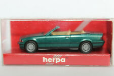BMW 3er Cabrio E36 grünmetallic Herpa  1:87