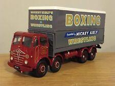 CORGI CLASSICS Mickey Kiely Boxe FODEN FG 8 roues POLE TRUCK Model 31012 1:50