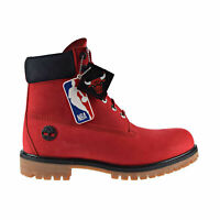 "TIMBERLAND 6"" Mens Premium Leather Waterproof Boots Chicago Bulls TB0A2856"