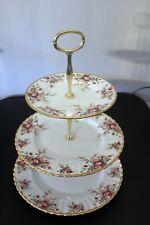 ROYAL ALBERT Cottage GARDEN Afternoon Tea or Cake stand Parkinsons UK