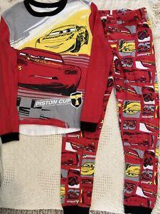 New Disney Cars youth boys pajama set size 4