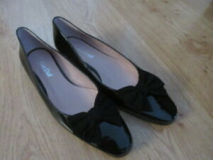 Ladies Van Dal Gisele shoes. Black Size 8UK New