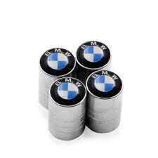 LOT 4 BOUCHON DE VALVE LOGO BMW BLEU BLANC - ENVOI DE FRANCE