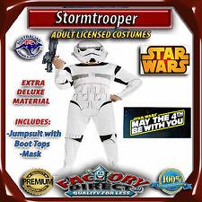 Deluxe Stormtrooper Adult Star Wars Storm Trooper Men's Costume Party