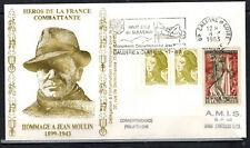 1983-Enveloppe Philatélique 1°Jour**J.Moulin-Obl.Caluire -Timbre Yt.1050/2241