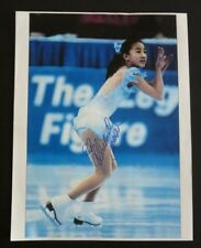 Michelle Kwan Olympic Skating Signed Autographed 8.5x11 Photo PSA Guaranteed