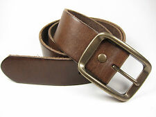 New Gap 246939001 Men's Casual Brown Genuine Cow Leather Belt Size: 28