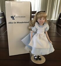 "Alice In Wonderland The Disney Collection 13"" Doll In Box Vintage 1998"