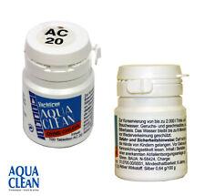 Aqua Clean AC20 ohne Chlor 100 Tabs entkeimt 2000L Trinkwasser tötet Bakterien