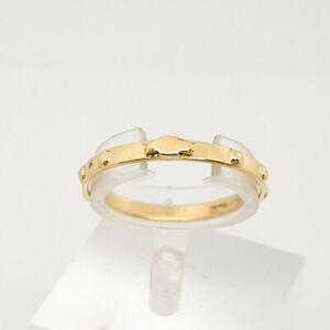 Anello in oro giallo 18 Kt 750 rosario -228/vv-