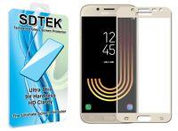 SDTEK Vetro Temperato Pellicola Protettiva per Samsung Galaxy J5 2017 (Oro)
