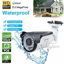 POE HD 2.0MP 1080P IP Camera Onvif IP68 Outdoor Security Network IR Night Vision