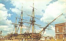 Postcard, HMS Victory 104-gun first-rate ship of the line of the Royal Navy 96V