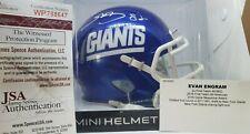 Evan Engram Autographed Signed New York Giants Mini Helmet JSA Authentic