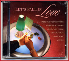 LETS FALL IN LOVE MUSIC CD, Beautiful Jazz Tunes, Romance, New and Sealed
