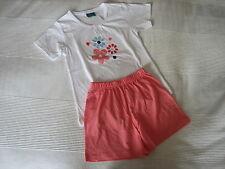Topolino Schlafanzug Shorty Mädchen Gr. 128 Neu mit Etikett
