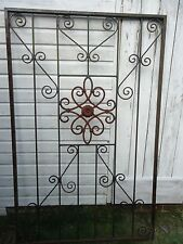 WROUGHT IRON GARDEN GATE?? DECORATIVE ITEM FOR CLIMBING PLANTS