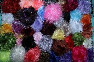 ANGEBOT 500 g Fransengarn Ayda Fransenwolle freie Farbwahl viele neue Farben