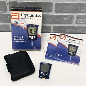 Abbott Optium EZ Blood Glucose Monitoring System-Hypoglycemia Testing Meter *NEW