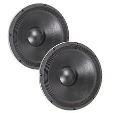 """Pair Eminence IMPERO 18A 18"""" High Power Sub Woofer 8ohm Replacement Speaker"""