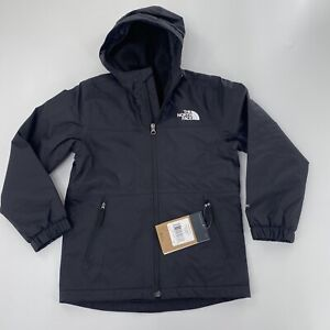 NWT The North Face Warm Storm Jacket NEW Sz 7/8 Black Fleece Lined Warm Coat