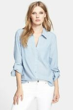 Joie Pocket Cotton Shirt Size Small (Retail $168)