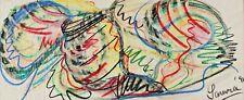 Mario SAMRA 1938 - Abstrakte Komposition