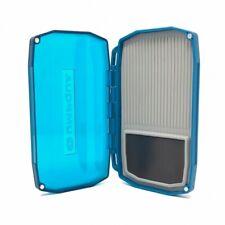 Umpqua Upg Lt Mini Midge Fly Box In Blue - With 3D Tpe Insert & Magnet