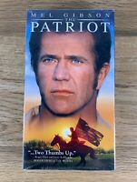 The Patriot (VHS, 2000) Mel Gibson Brand New Sealed Tape