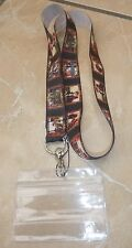 Labyrinth Lanyard / Neck Strap for Pin Trading inc. Waterproof Holder