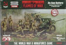 Flames of War: Soviet: Plastic Zis Gun Battery (SBX34)  NEW
