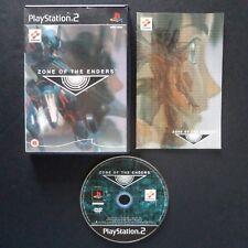 ZONE OF THE ENDERS Z.O.E. PlayStation 2 PAL English・♔・SHOOTER PS2 KONAMI KOJIMA